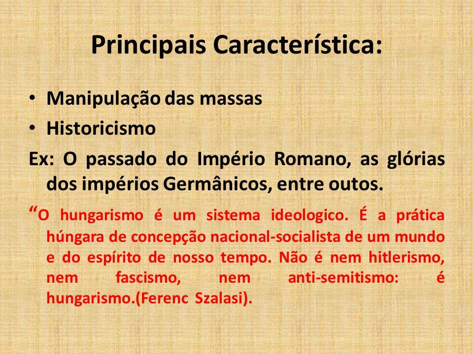 Principais Característica: