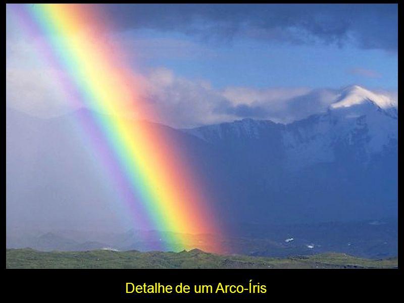 Detalhe de um Arco-Íris