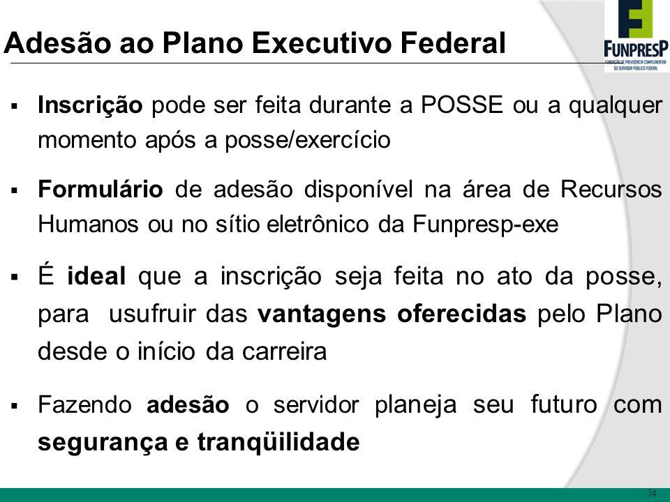 Adesão ao Plano Executivo Federal