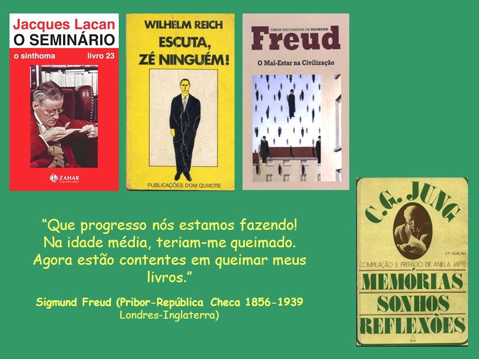 Sigmund Freud (Pribor-República Checa 1856-1939 Londres-Inglaterra)
