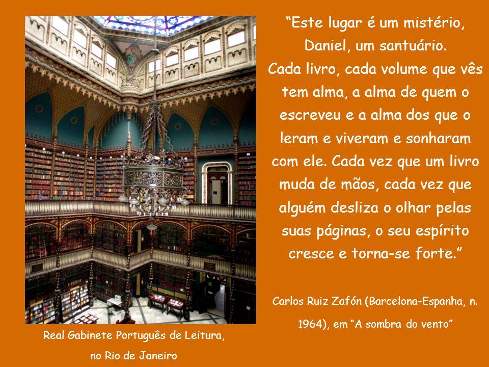Real Gabinete Português de Leitura, no Rio de Janeiro