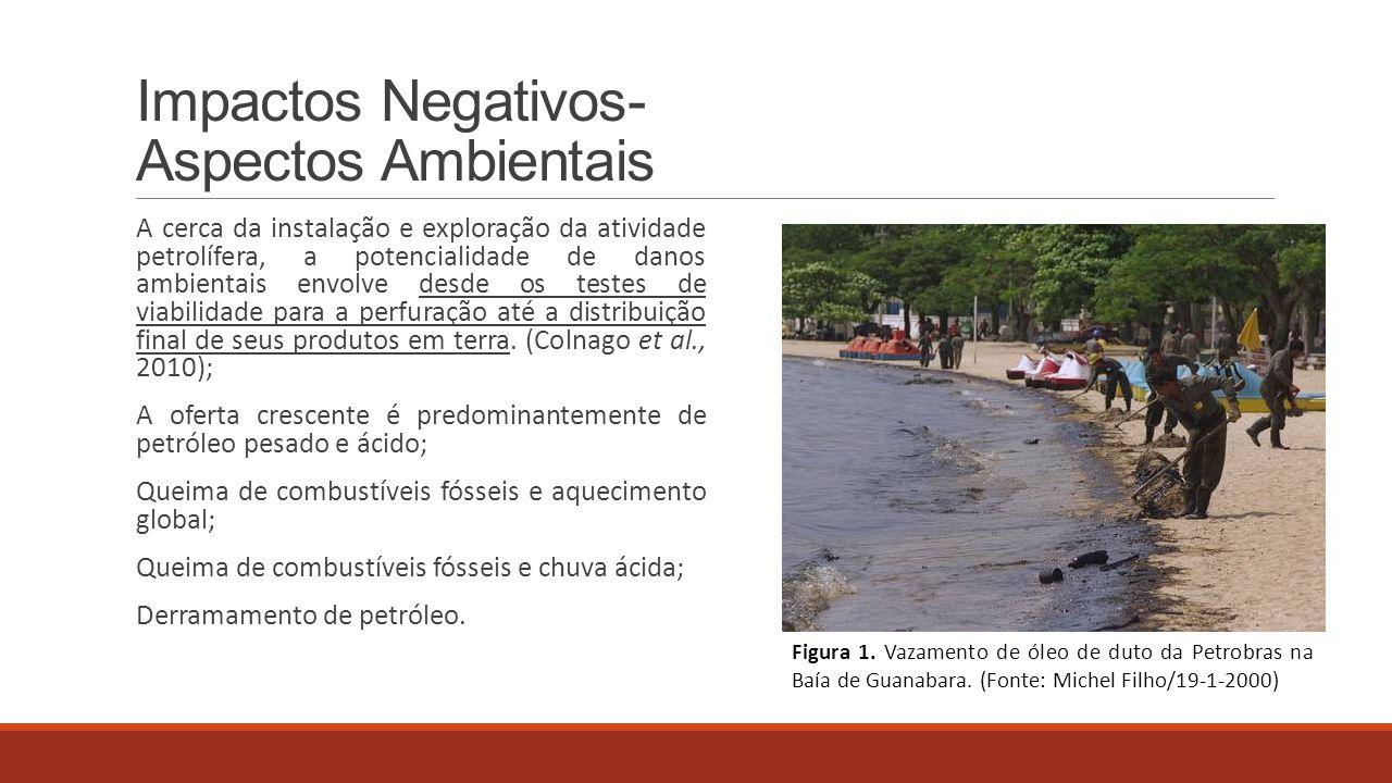 Impactos Negativos- Aspectos Ambientais