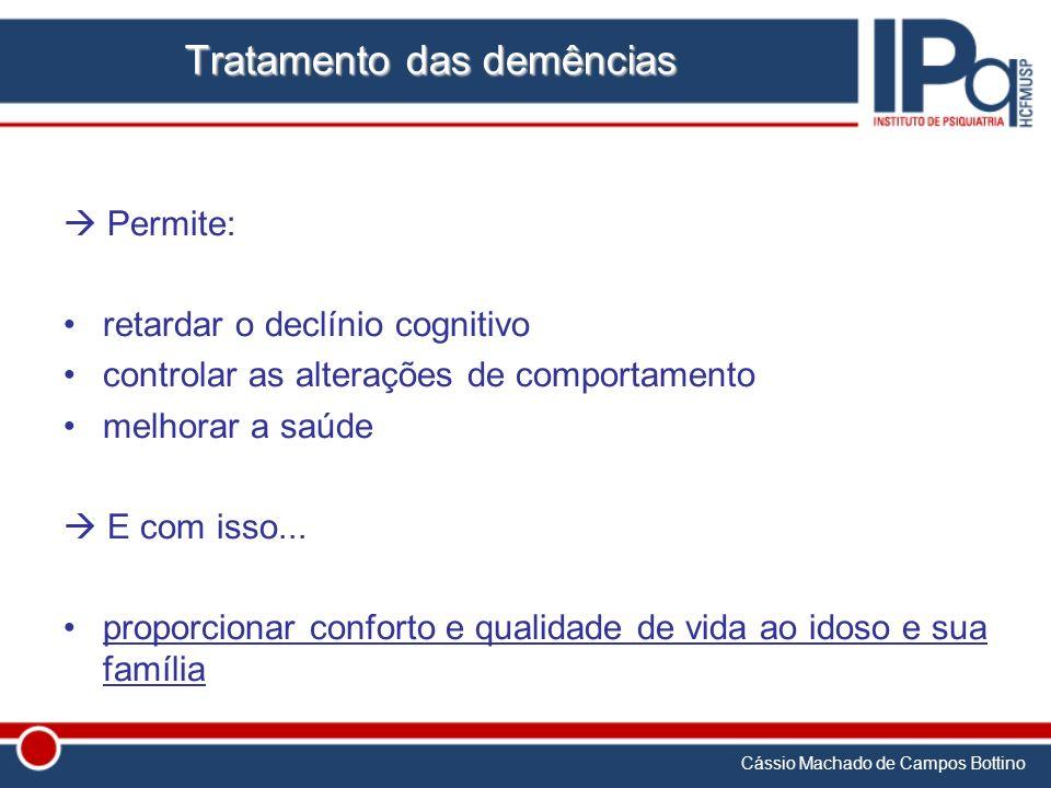 Tratamento das demências