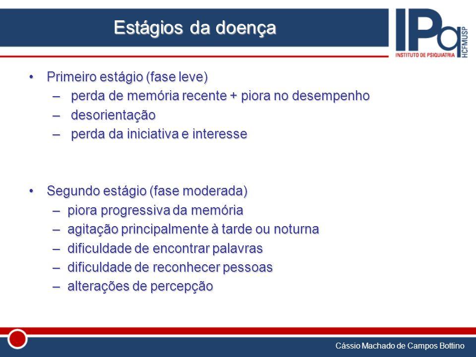 Estágios da doença Primeiro estágio (fase leve)