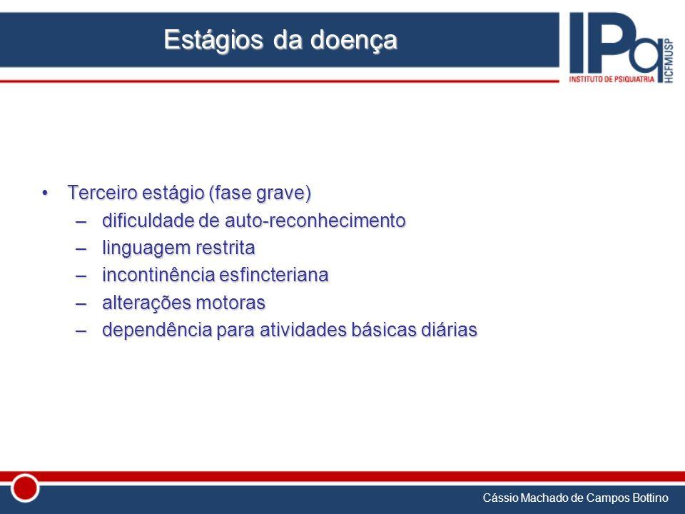 Estágios da doença Terceiro estágio (fase grave)