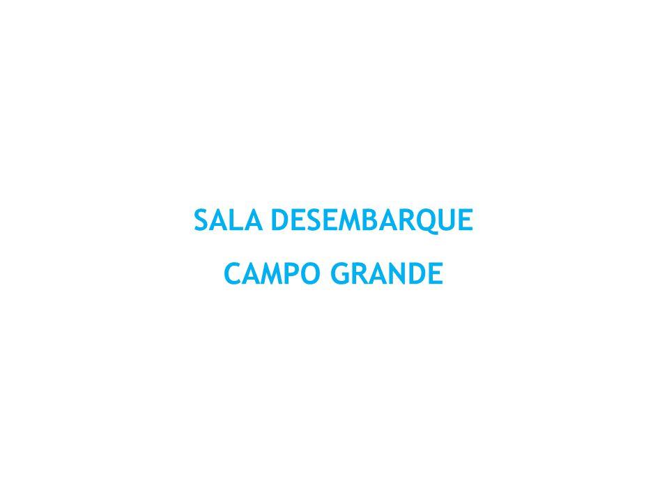 SALA DESEMBARQUE CAMPO GRANDE