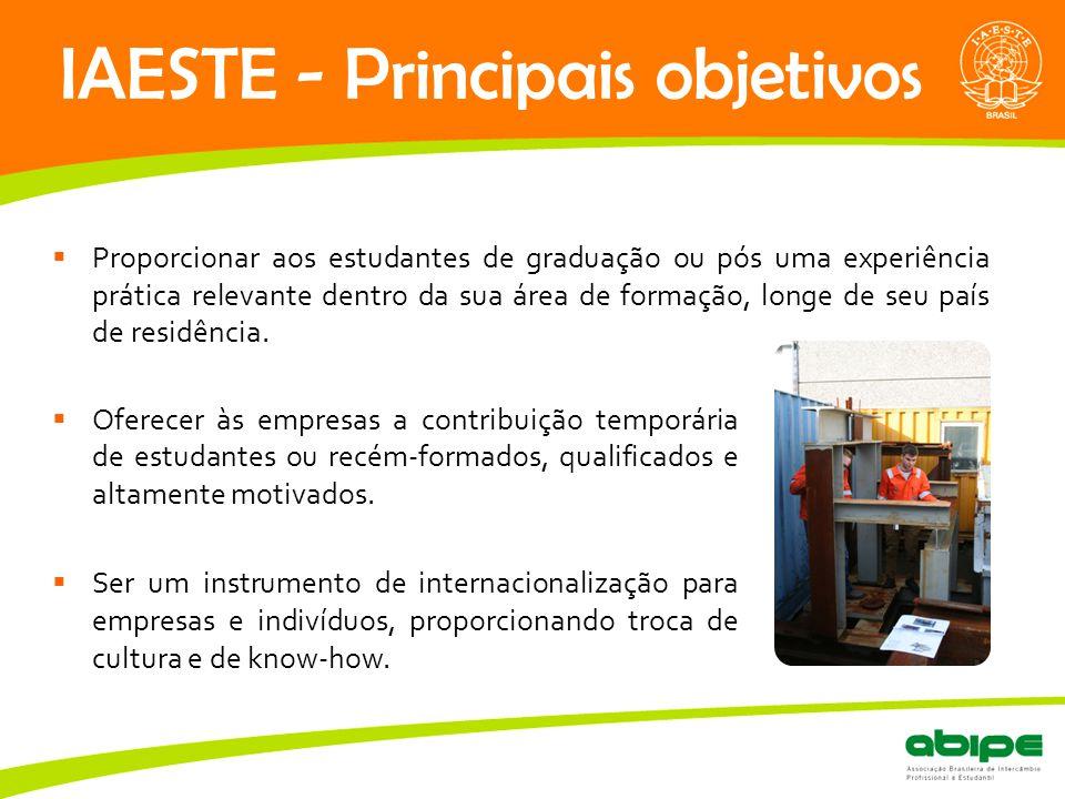 IAESTE - Principais objetivos