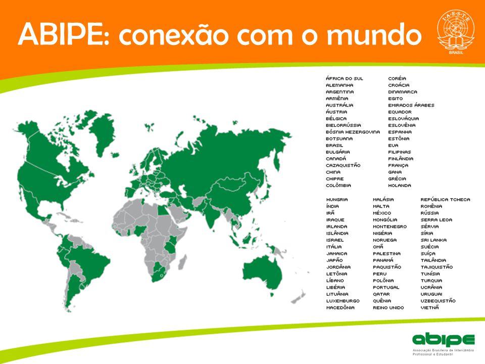 ABIPE: conexão com o mundo