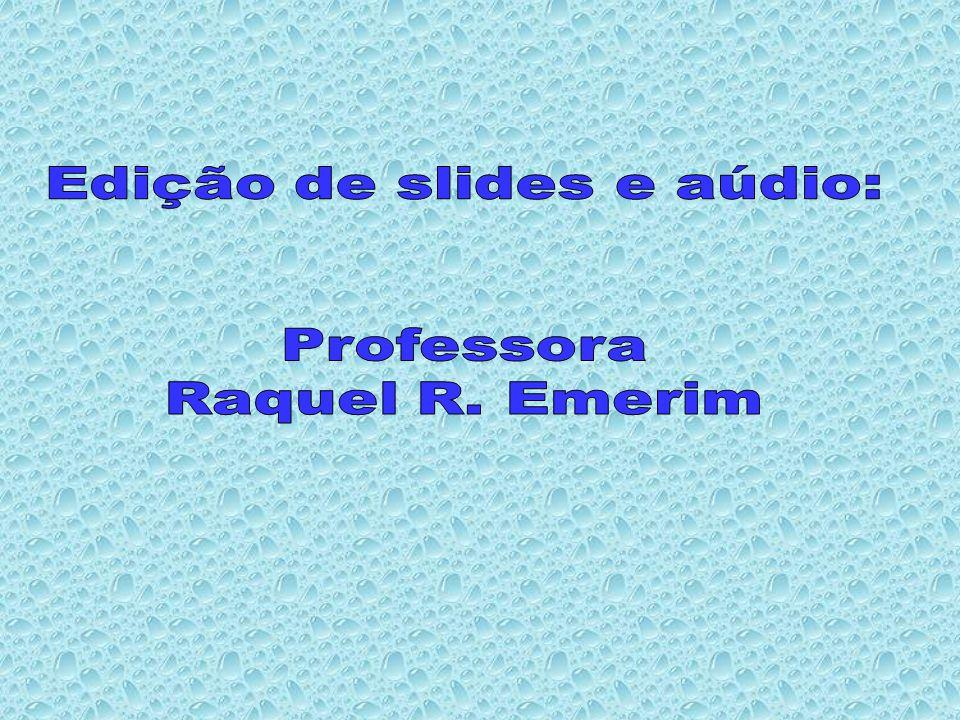 Edição de slides e aúdio: