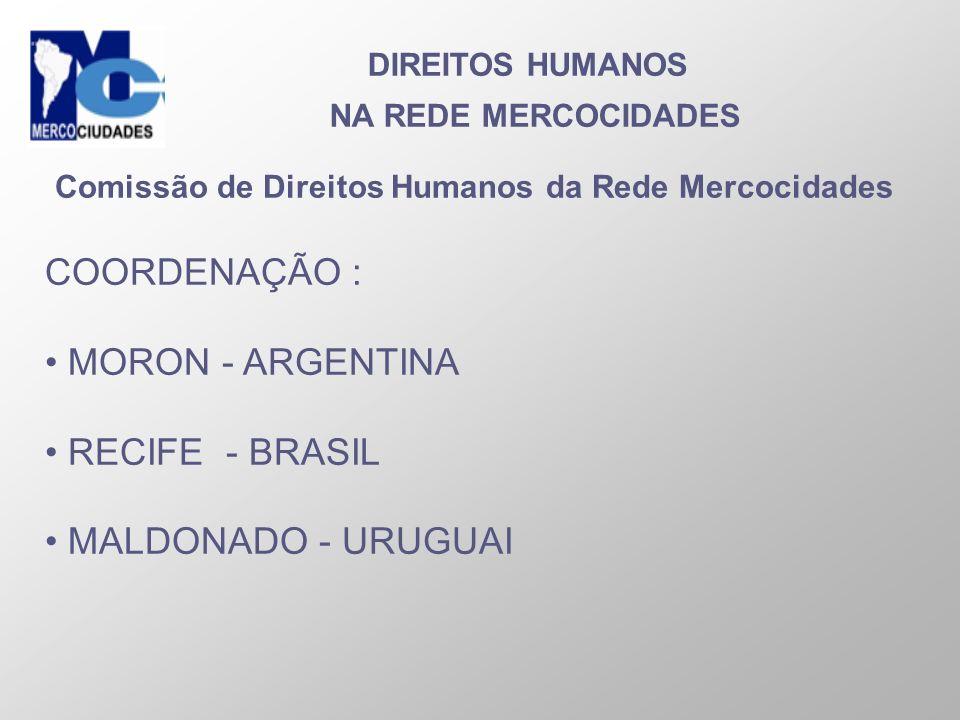 Comissão de Direitos Humanos da Rede Mercocidades