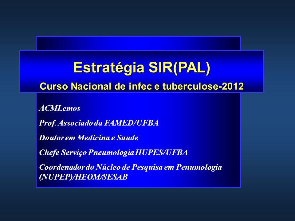 Curso Nacional de infec e tuberculose-2012
