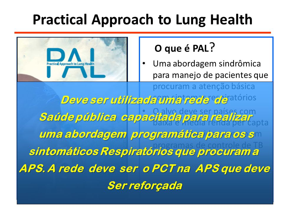 Practical Approach to Lung Health