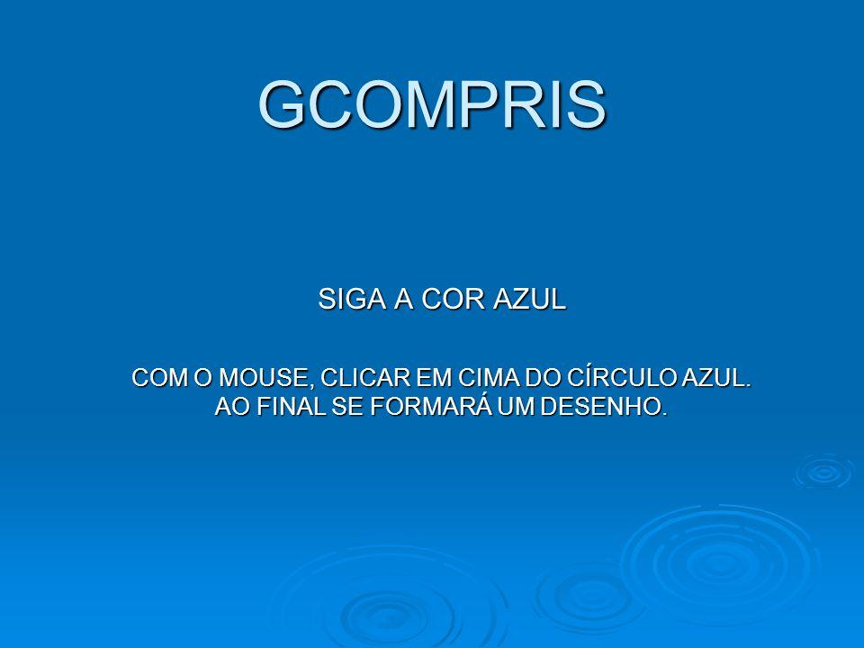 GCOMPRIS SIGA A COR AZUL