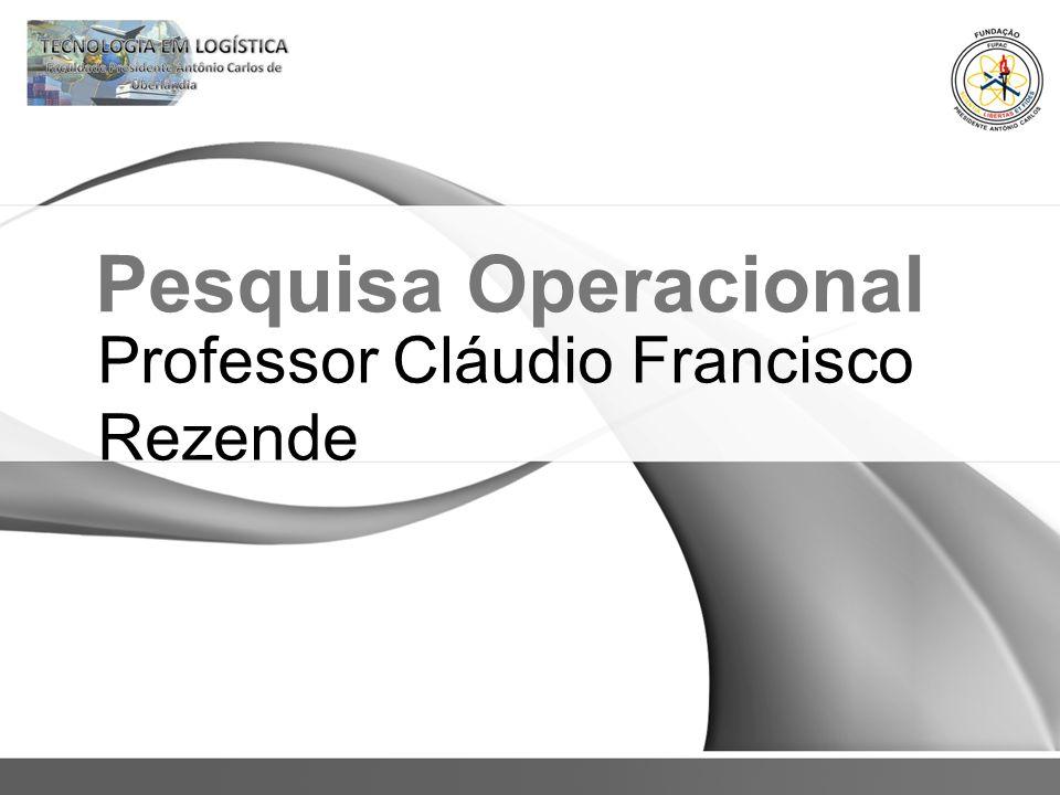 Professor Cláudio Francisco Rezende