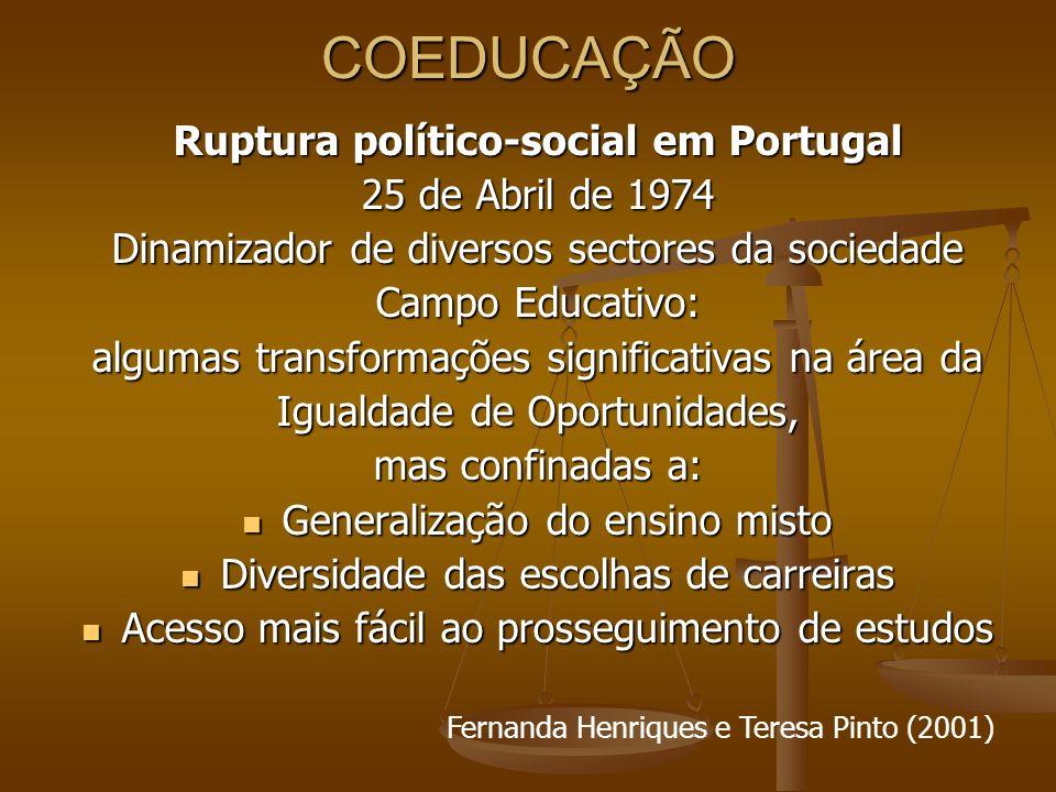 Ruptura político-social em Portugal