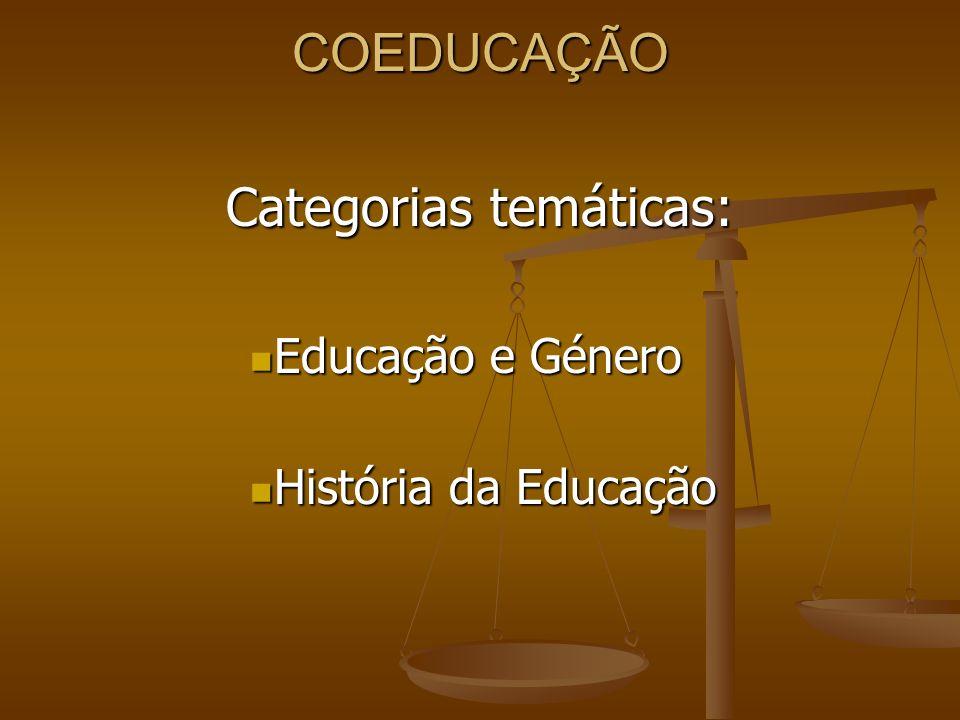 Categorias temáticas: