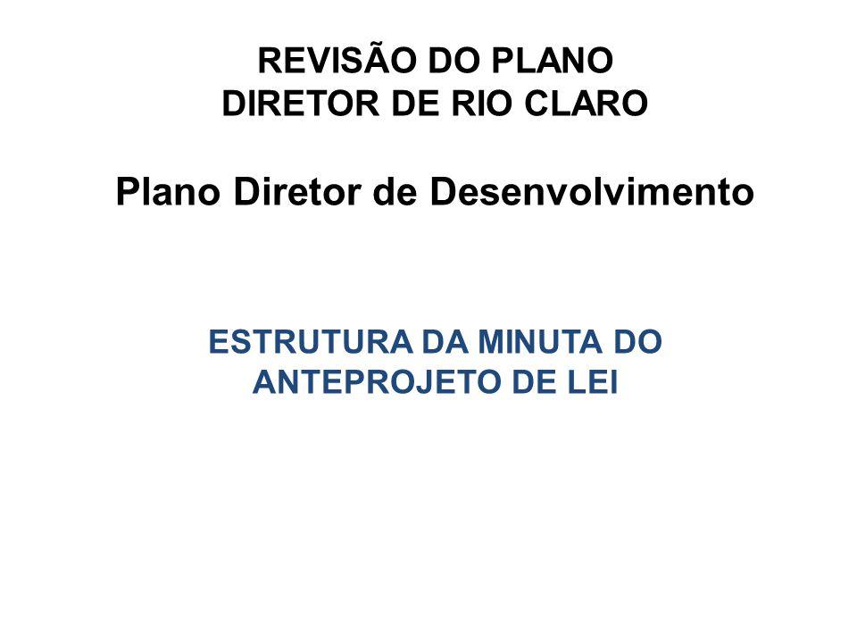 Plano Diretor de Desenvolvimento