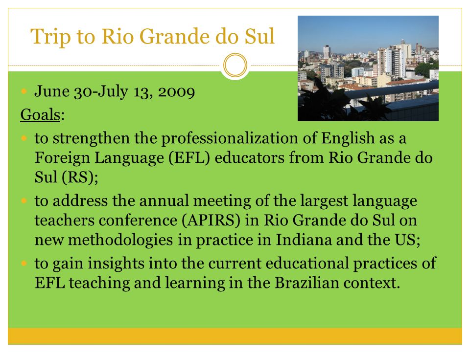 Trip to Rio Grande do Sul