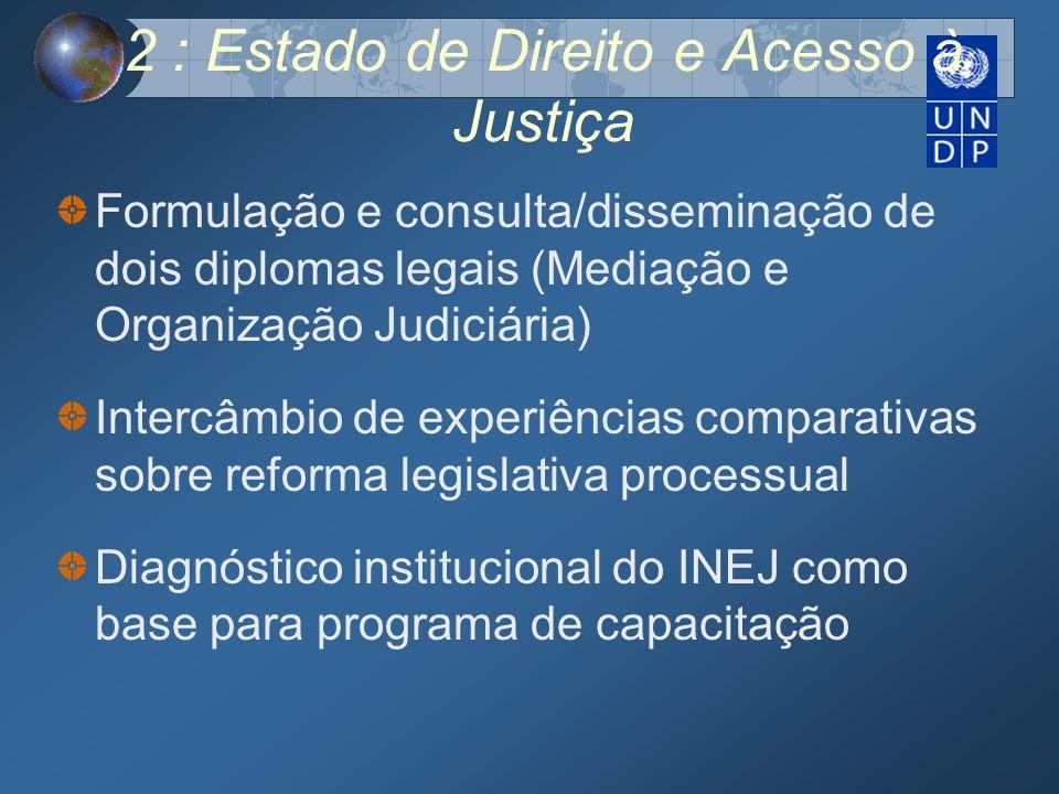 2 : Estado de Direito e Acesso à Justiça