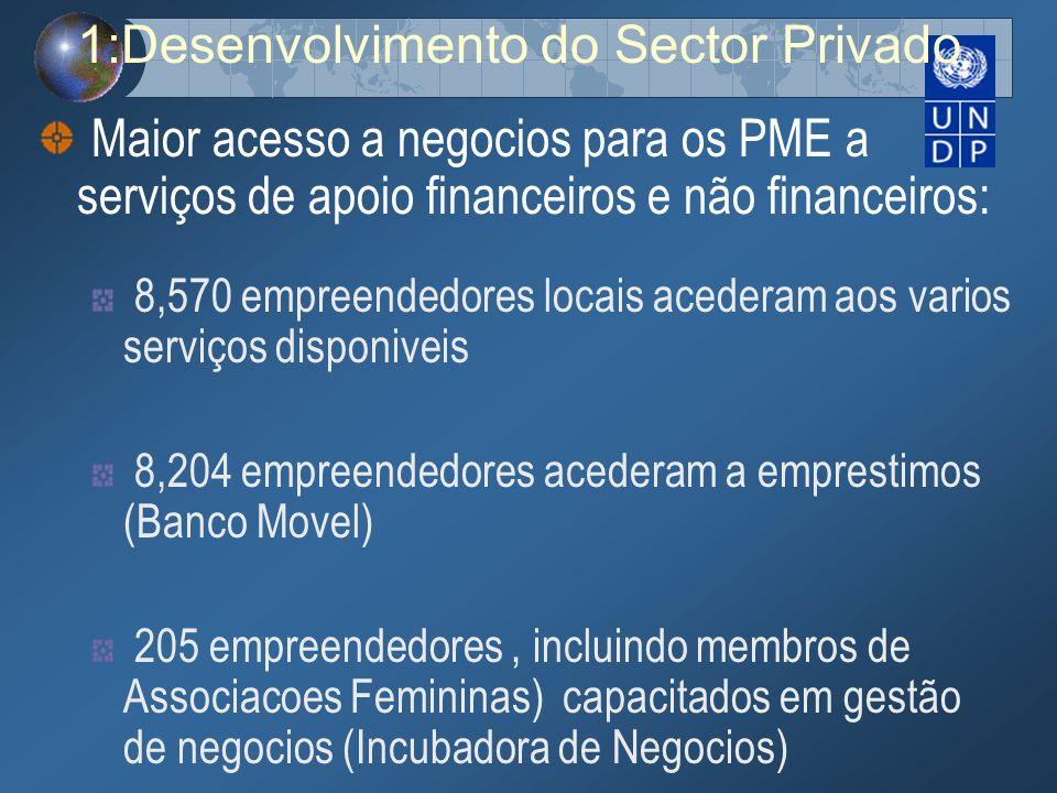 1:Desenvolvimento do Sector Privado