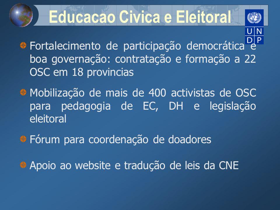 Educacao Civica e Eleitoral