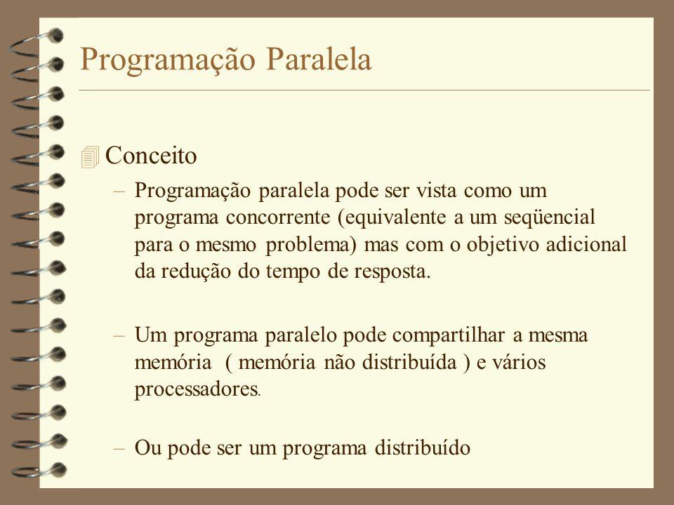 Programação Paralela Conceito