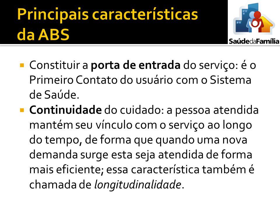 Principais características da ABS