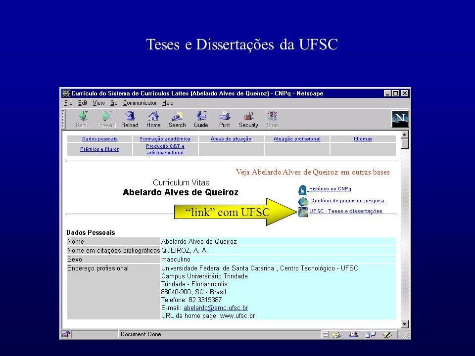 UFSC - Teses e dissertações