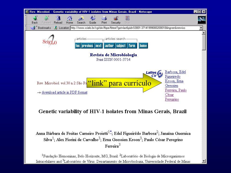 link para currículo