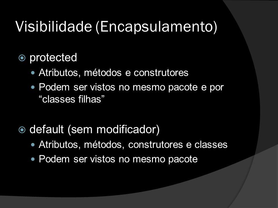 Visibilidade (Encapsulamento)