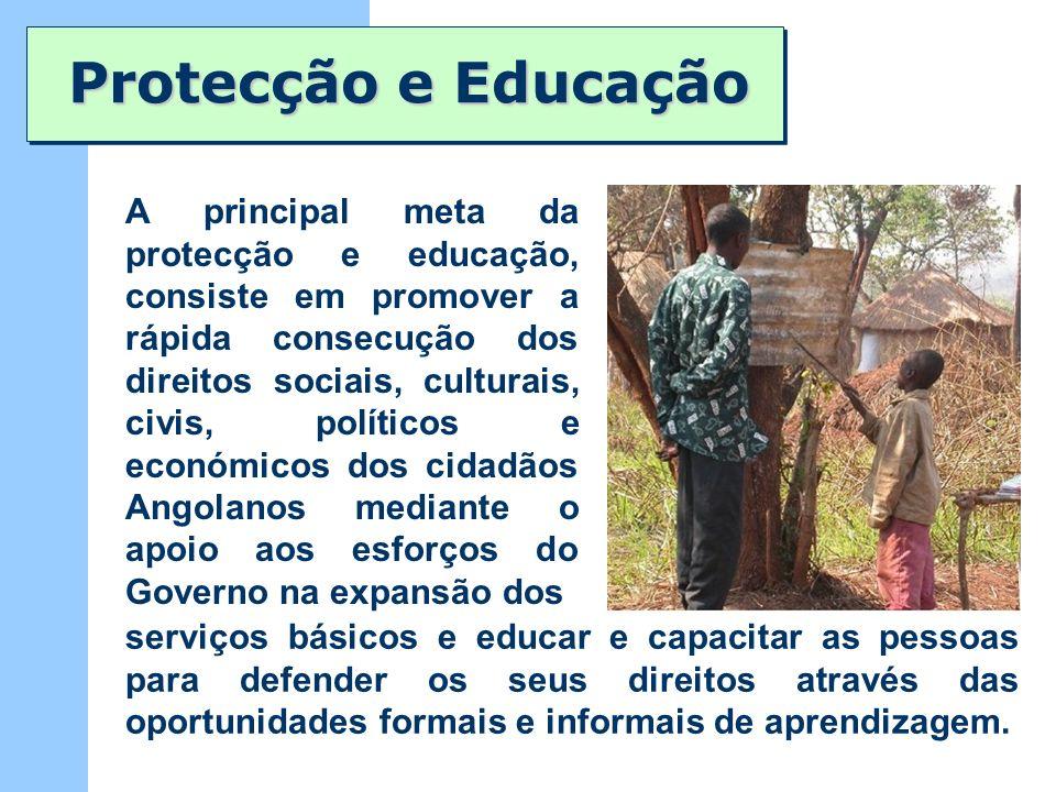 Protecção e Educação
