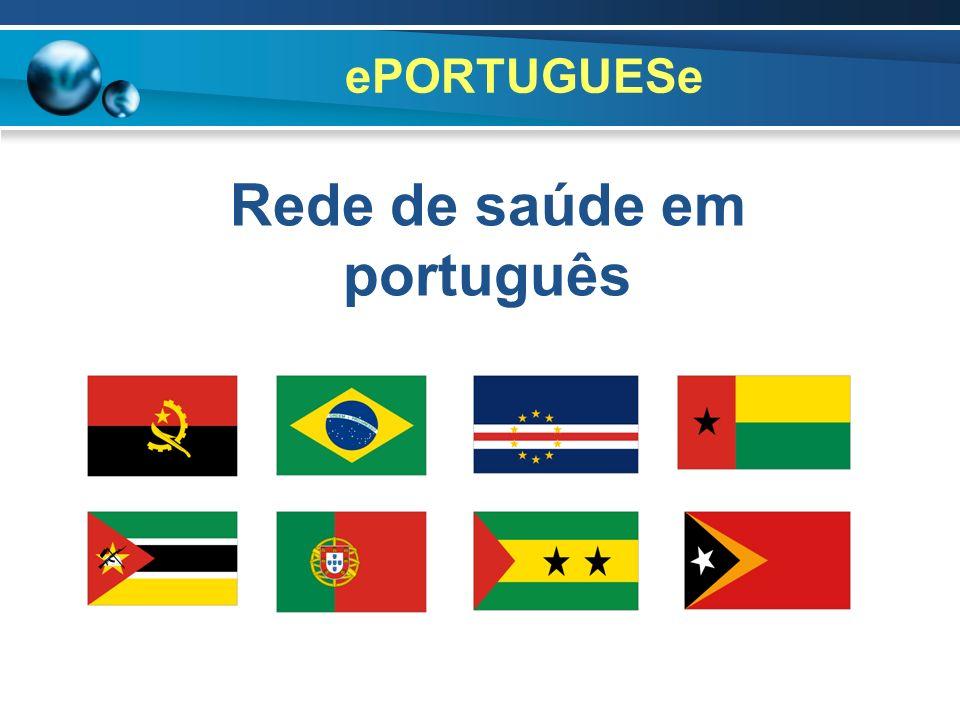 Rede de saúde em português
