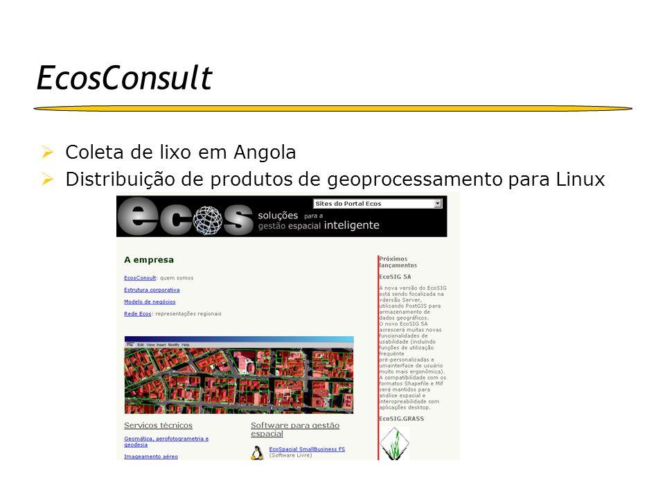 EcosConsult Coleta de lixo em Angola