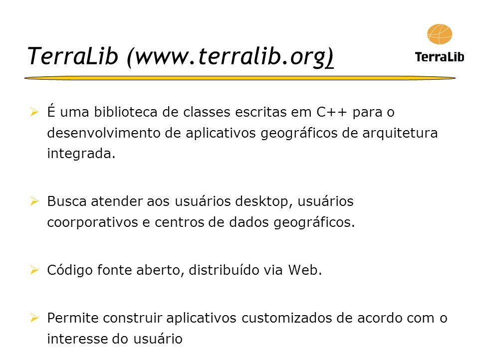 TerraLib (www.terralib.org)