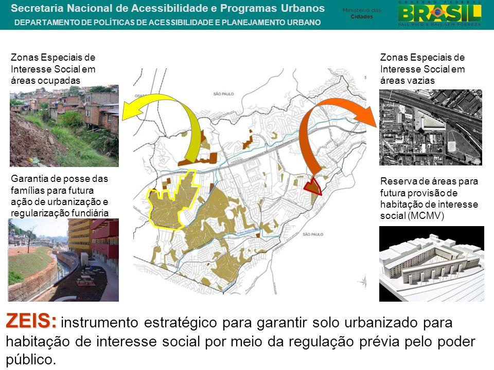 Zonas Especiais de Interesse Social em áreas ocupadas