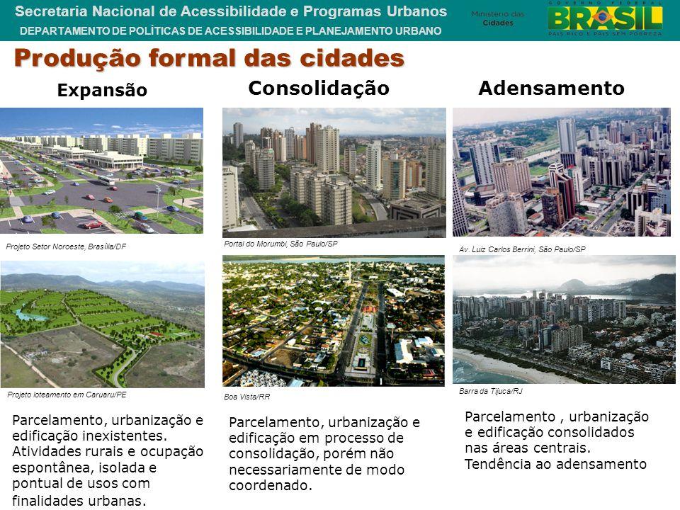 Produção formal das cidades