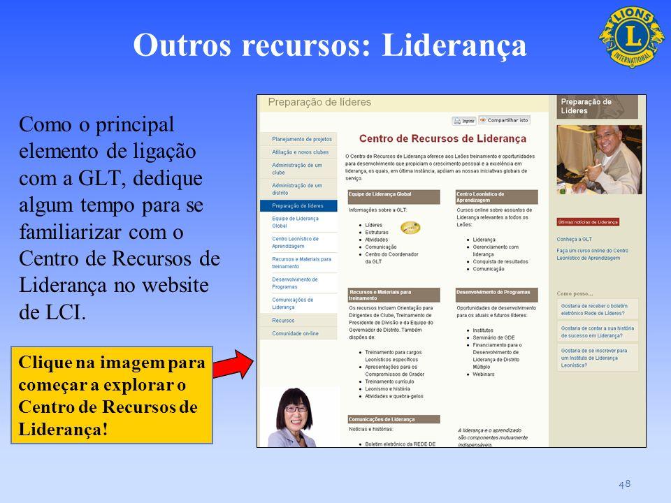 Outros recursos: Liderança