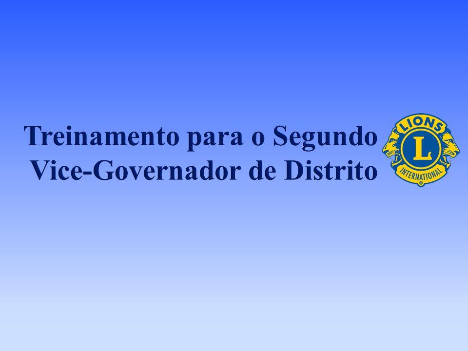 Treinamento para o Segundo Vice-Governador de Distrito