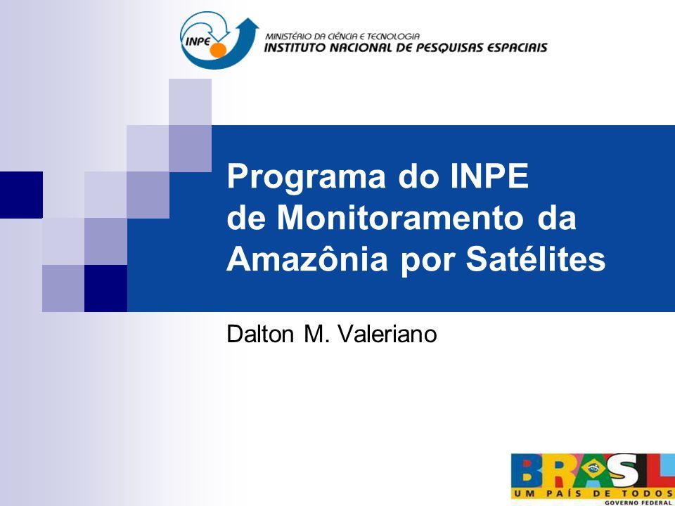 Programa do INPE de Monitoramento da Amazônia por Satélites