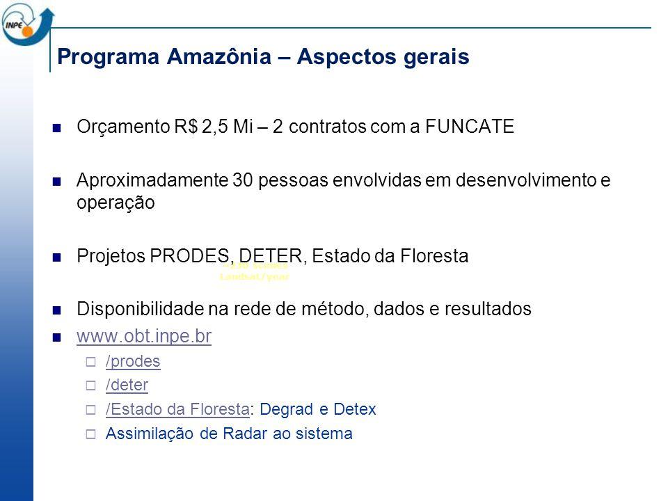 Programa Amazônia – Aspectos gerais