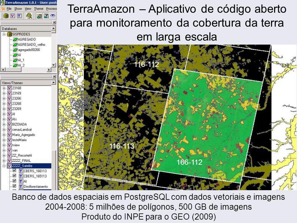 TerraAmazon – Aplicativo de código aberto para monitoramento da cobertura da terra em larga escala