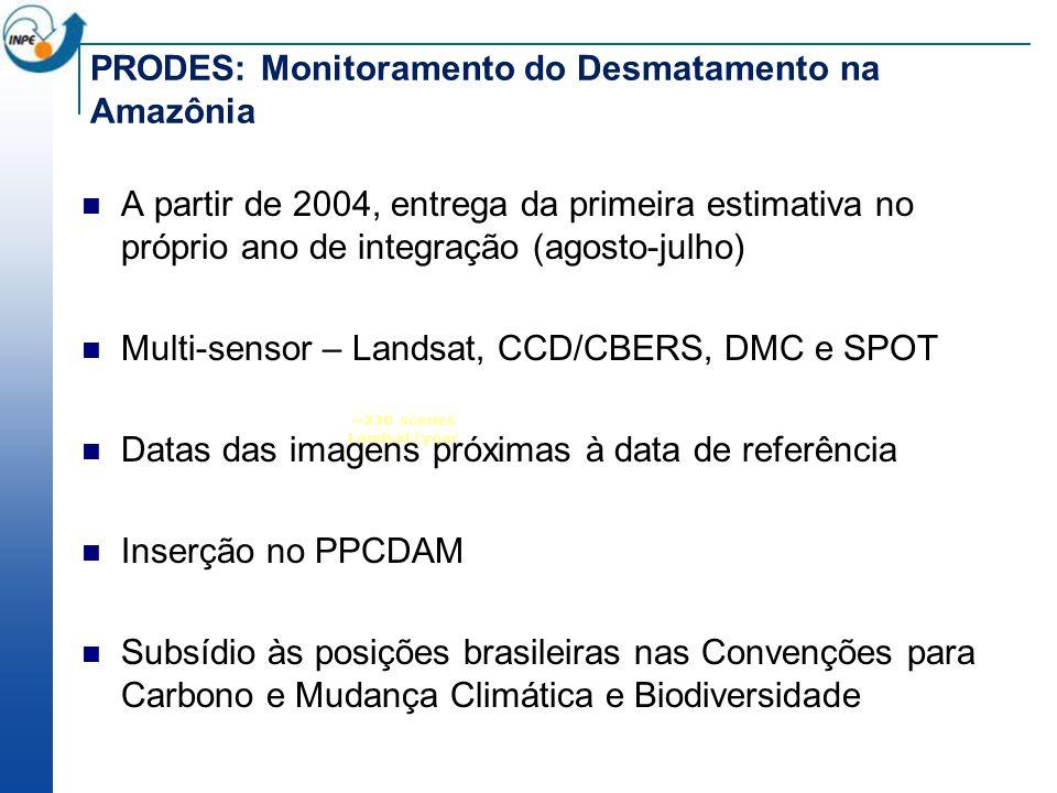 PRODES: Monitoramento do Desmatamento na Amazônia