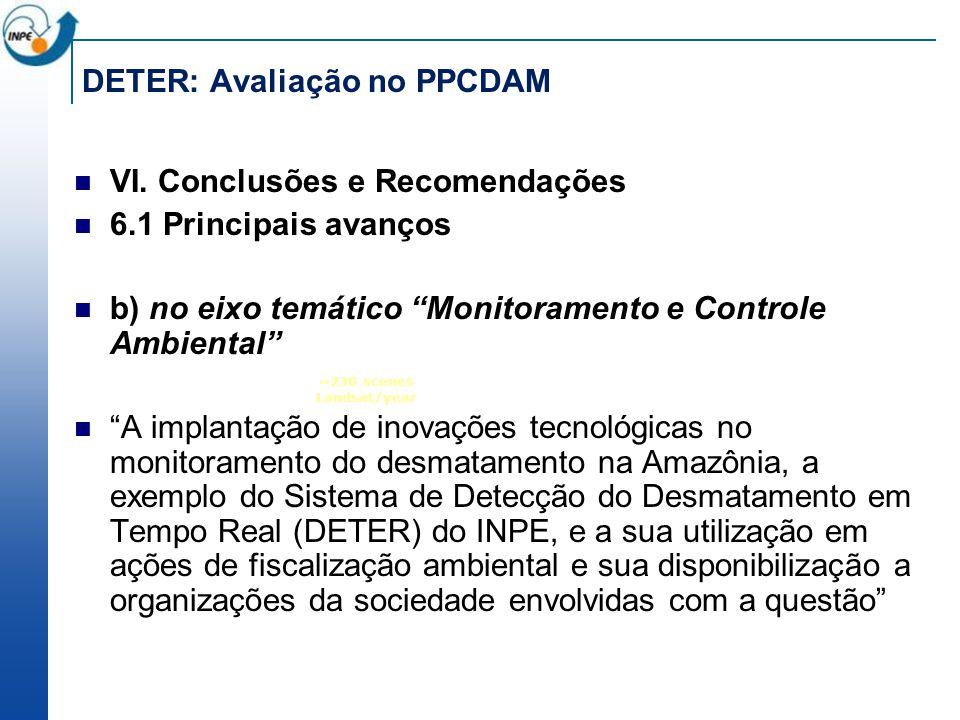 DETER: Avaliação no PPCDAM