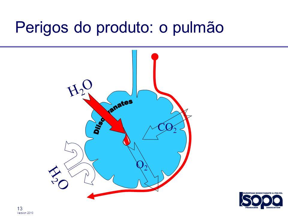 Perigos do produto: o pulmão