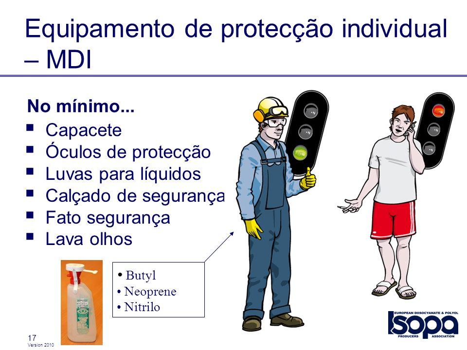 Equipamento de protecção individual – MDI