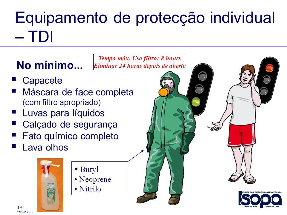 Equipamento de protecção individual – TDI
