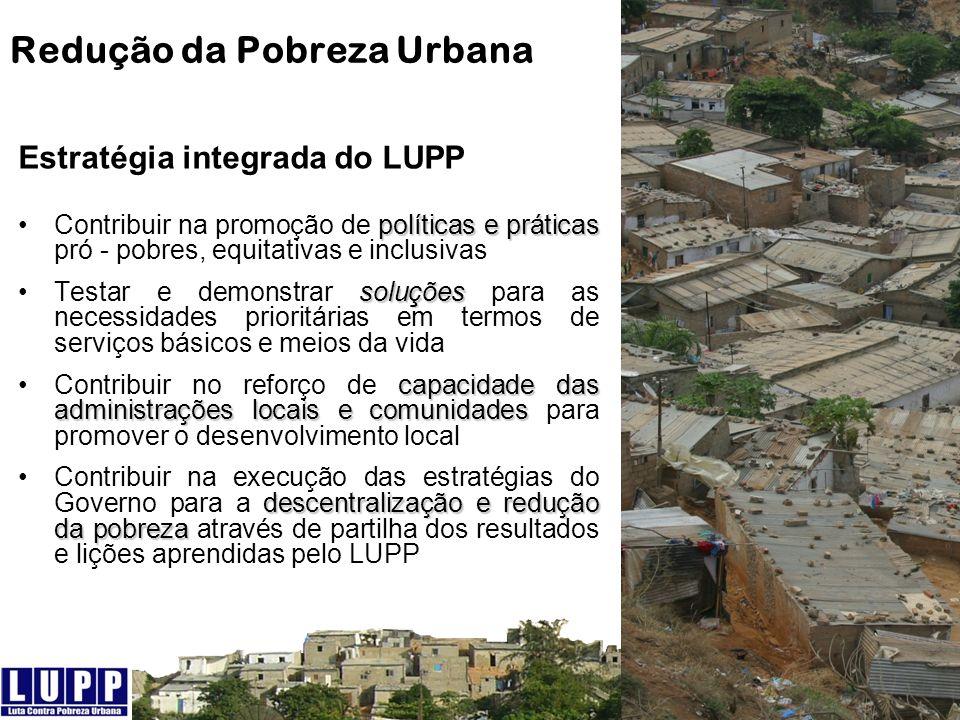 Redução da Pobreza Urbana