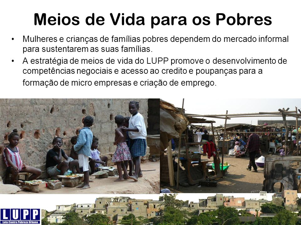 Meios de Vida para os Pobres