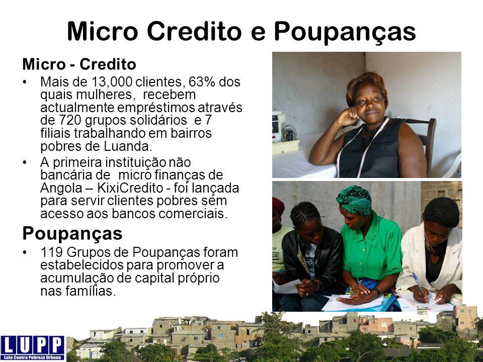 Micro Credito e Poupanças