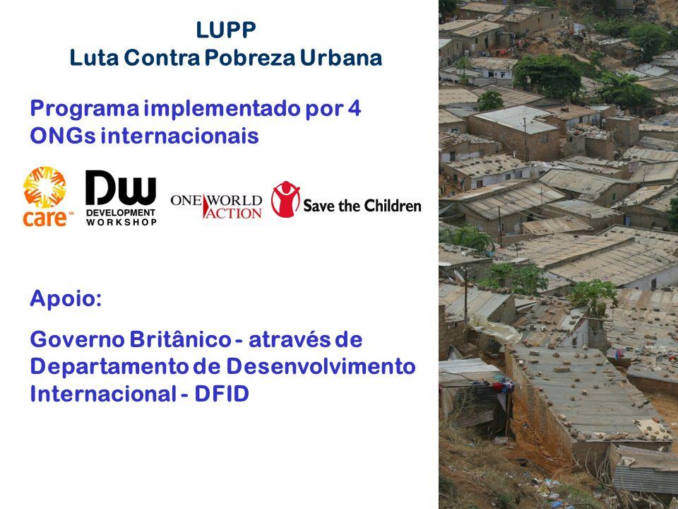 Luta Contra Pobreza Urbana
